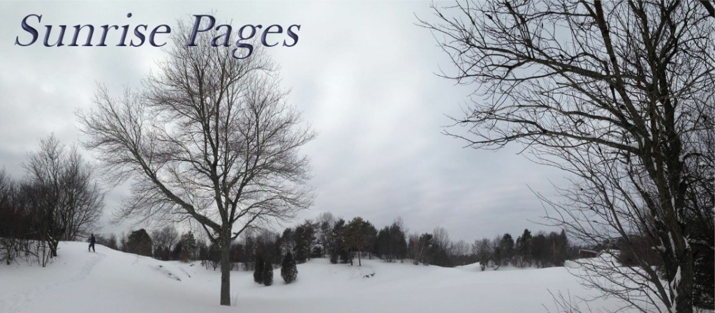 Sunrise Pages February